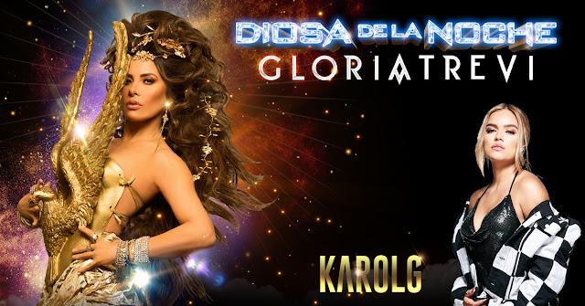 Gloria Trevi, the indisputable queen of Spanish-language music Announces Diosa De La Noche US Tour with Karol G