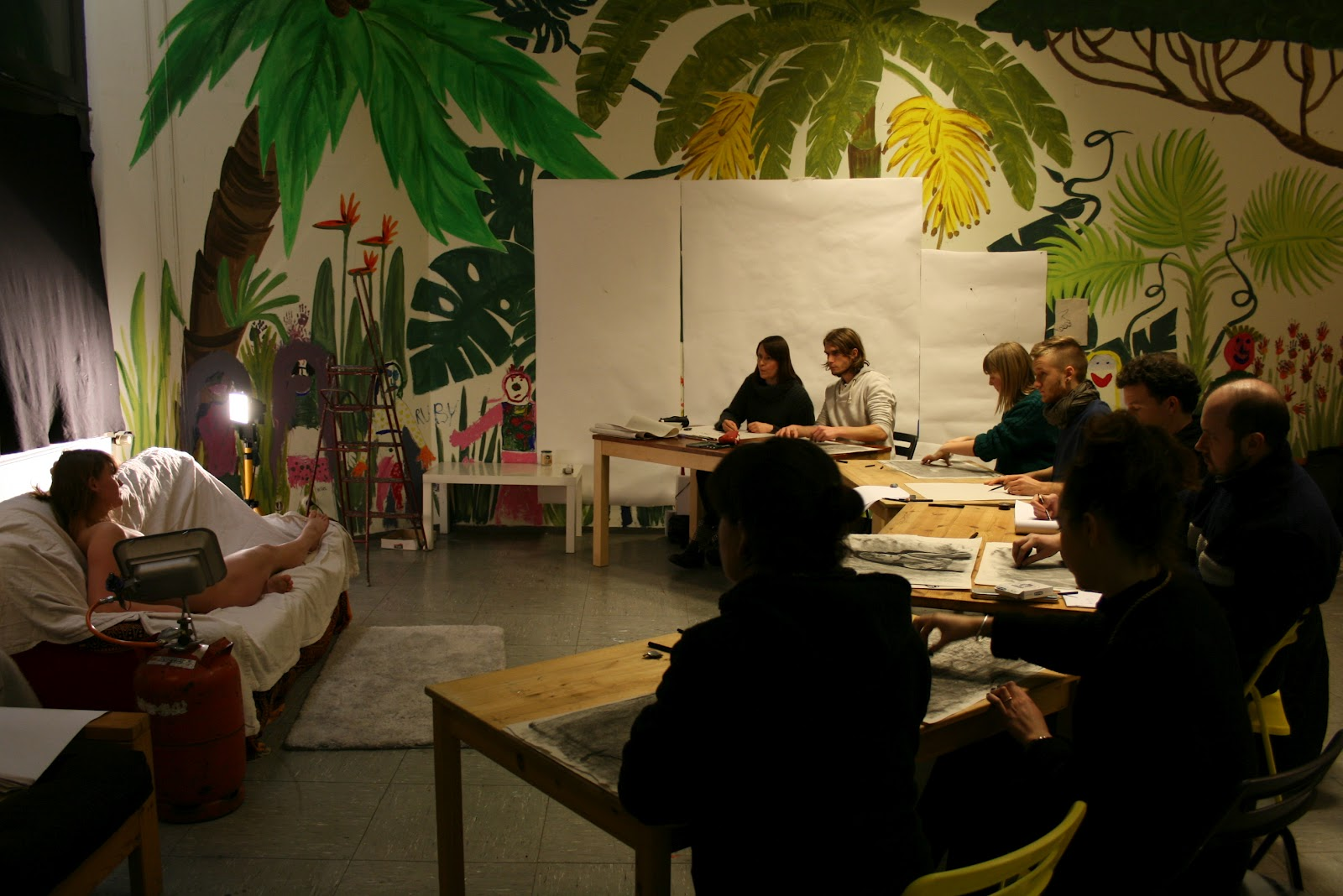 Berlin Drawing Room Blog: one-day Life Drawing Workshop
