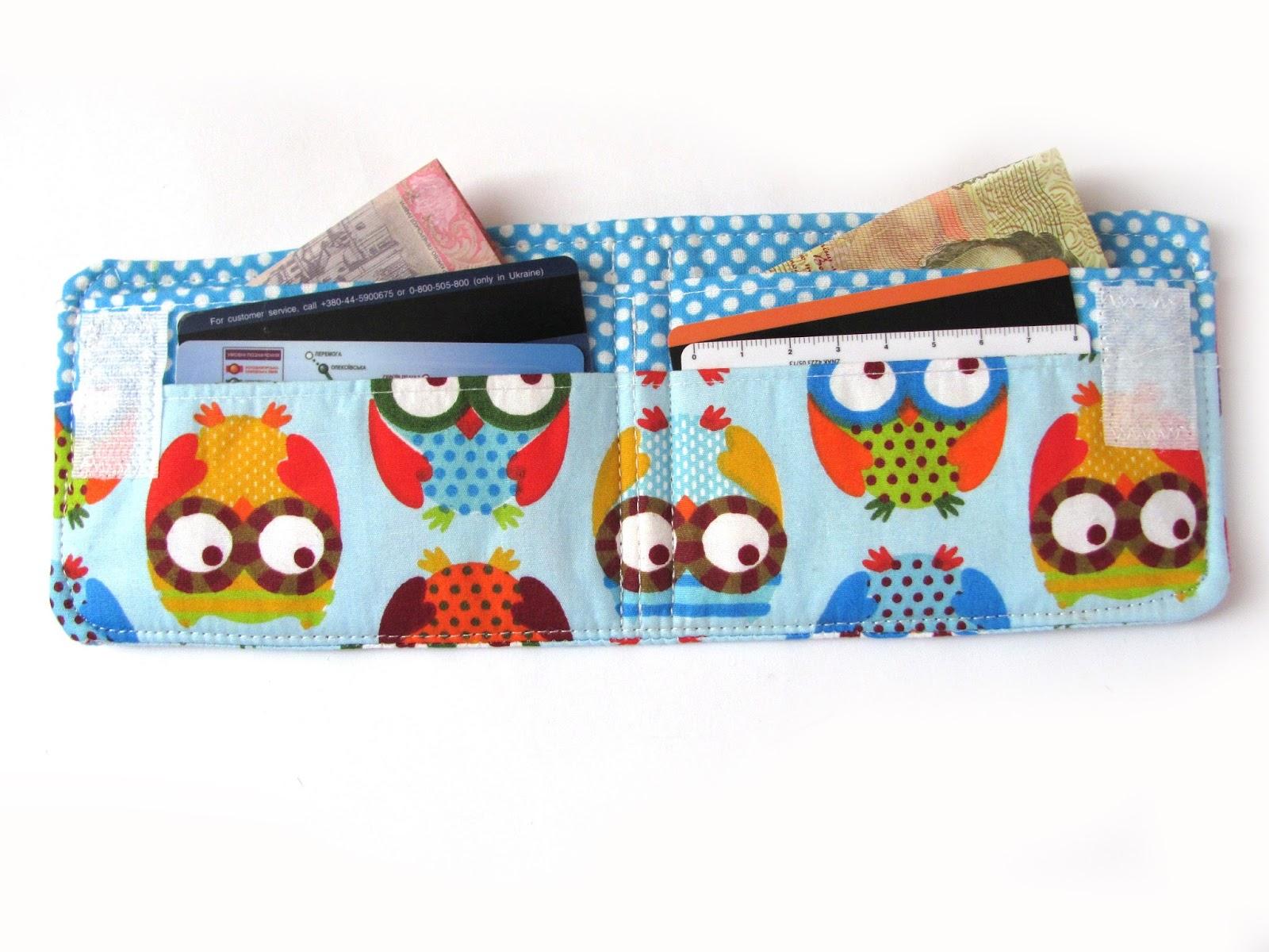 кошелек своими руками.  Bright purse. Sewing instructions