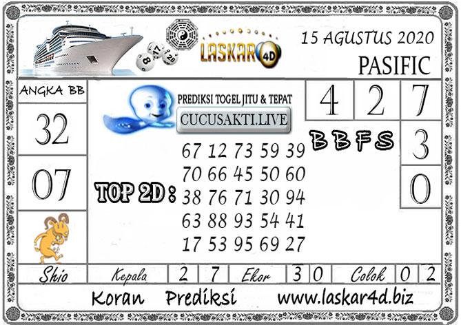 Prediksi Togel PASIFIC LASKAR4D 15 AGUSTUS 2020