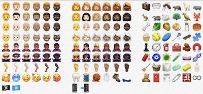 Ada Lebih Dari 70 Emoji Baru