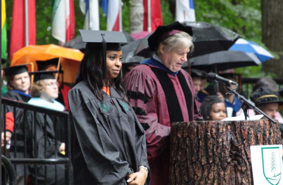 VP Yemi Osibanjo's daughter graduates with a Master's degree in  Dartmouth College, New Hampshire US