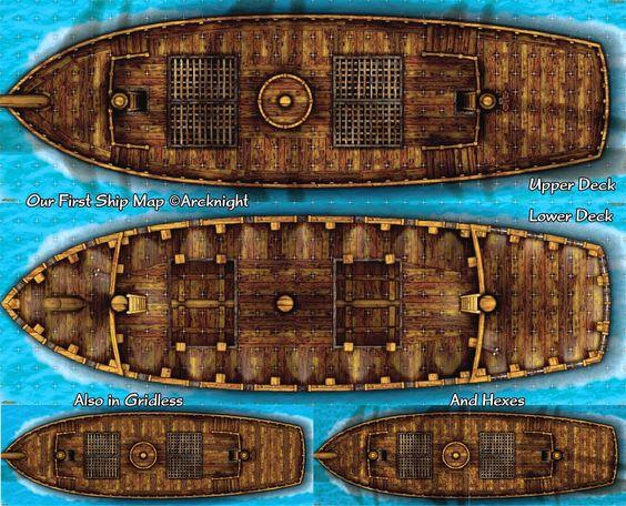 Poderia ser usado como um navio de escravos ou algo similar.
