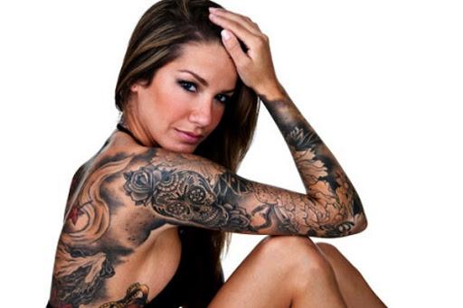 Acucar Cranio Manga Tatuagem