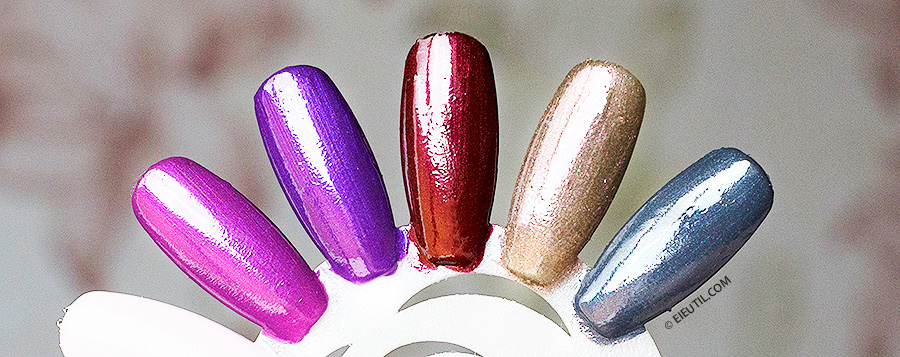 Swatches: Esmaltes 'Aperte o Play' - Vult