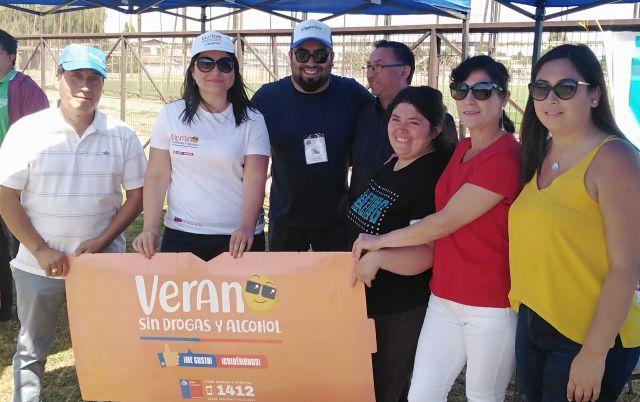 SENDA Previene Osorno realizó tarde recreativa en Rahue Alto