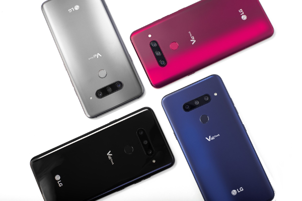 LG V40 ThinQ launched with Five cameras and 6.4-inch QHD+ OLED FullVision display