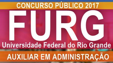 Apostila concurso FURG 2017