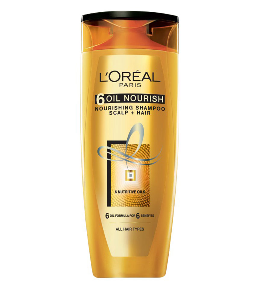 Loreal Paris 6 Oil Nourish Shampoo 330 ML