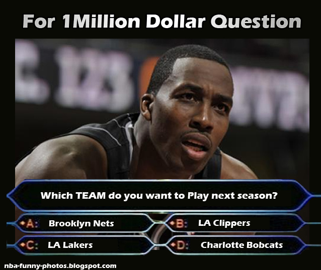 Dwight Howard - Where Team He'll Go?