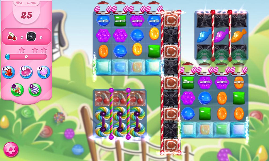 Candy Crush Saga level 6305