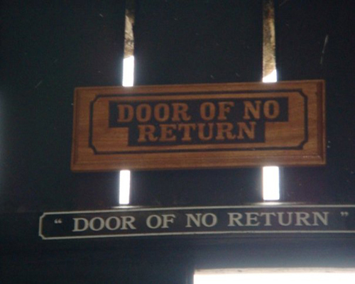 Explore the world with esther adewoyin cape coast castle for Door of no return