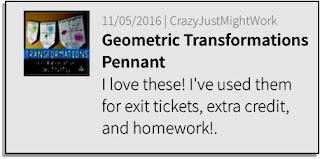 Geometric Transformations Pennant