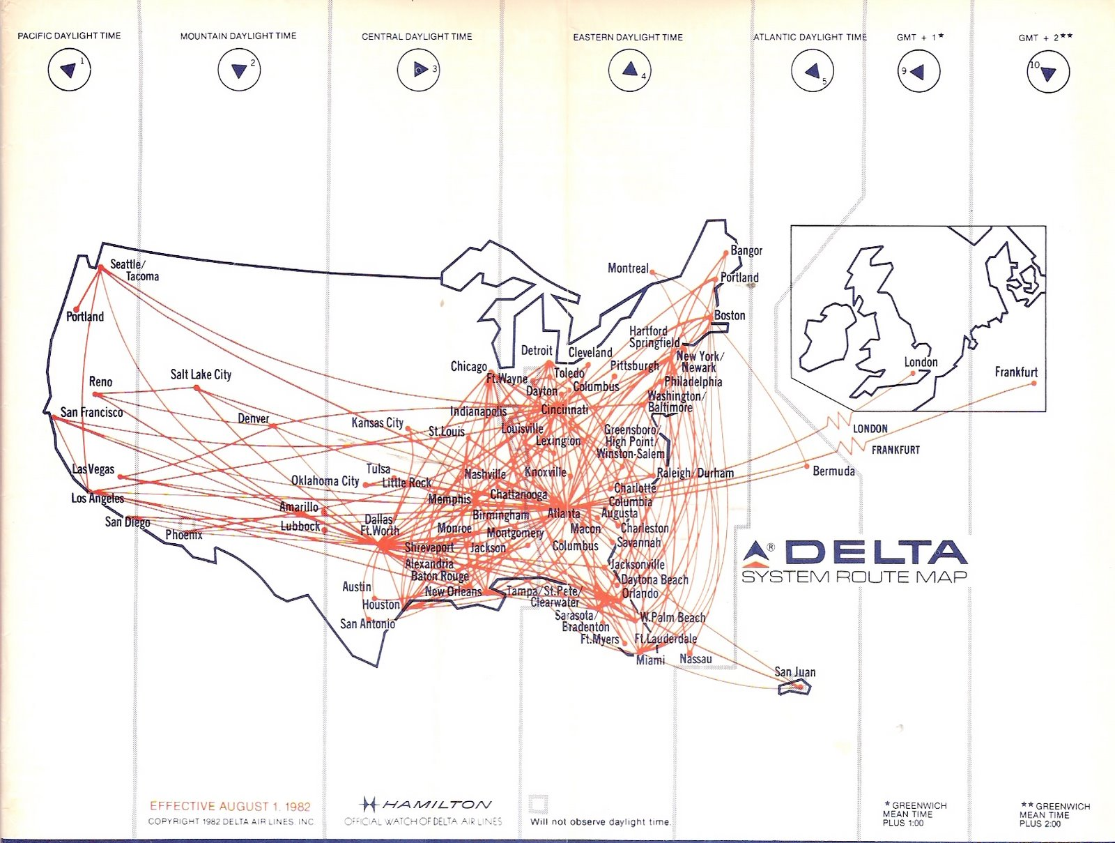 Jetblue Route Map Airline Timetables April 2008