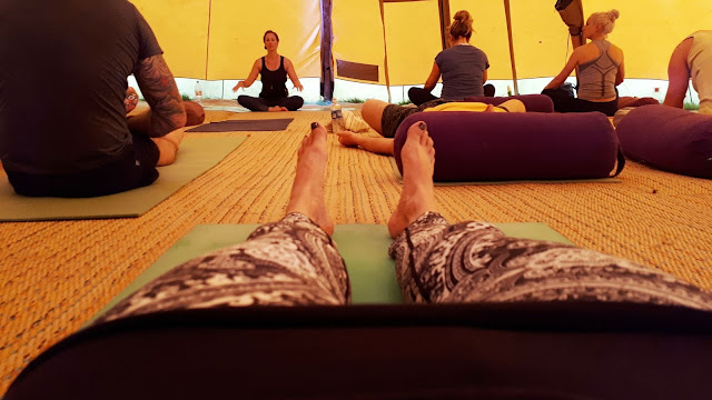 Project 365 2017 day 230 - Restorative yoga at Soul Circus // 76sunflowers