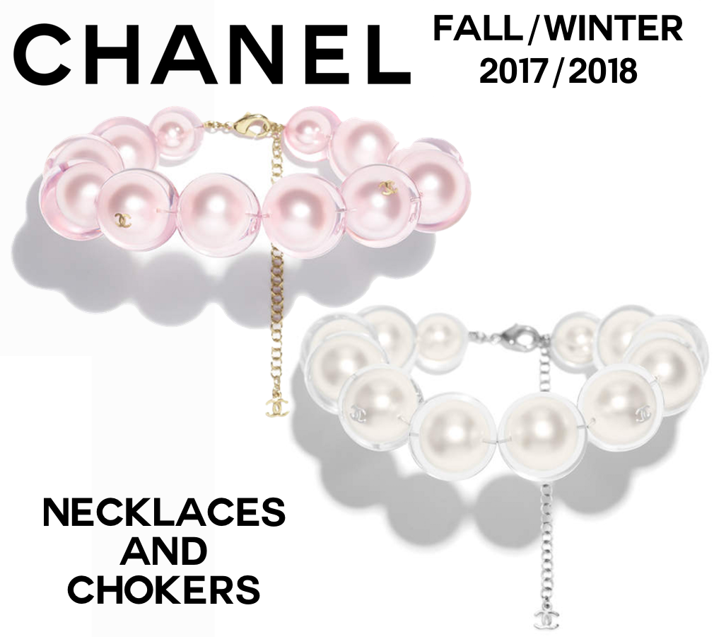 Chanel Fall/Winter 2017/2018 Costume Jewelry