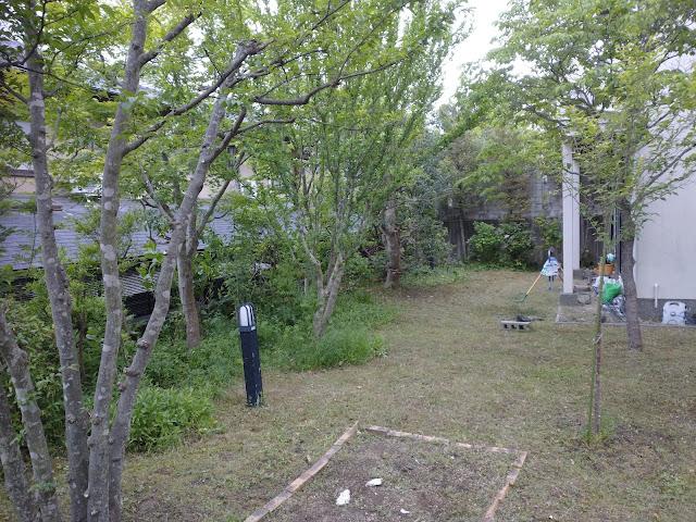 100平米 草刈り・剪定(京都市西京区桂坂)