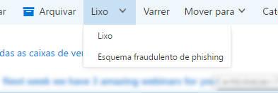 denunciar phishing