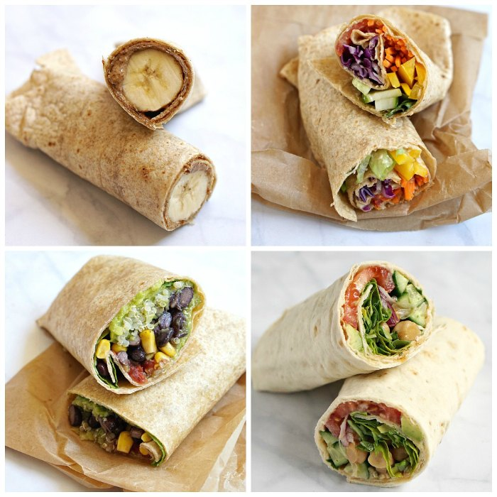 The Best Healthy Tortilla Wraps Lunch Recipes on Yummly | Skinny Buffalo Chicken Wrap, Healthy Veggie Wrap, Veggie Lunch Wraps.