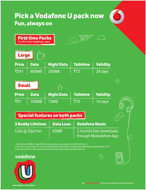 Vodafone Supernet 4G now used by over 1 Crore customers in Delhi NCR