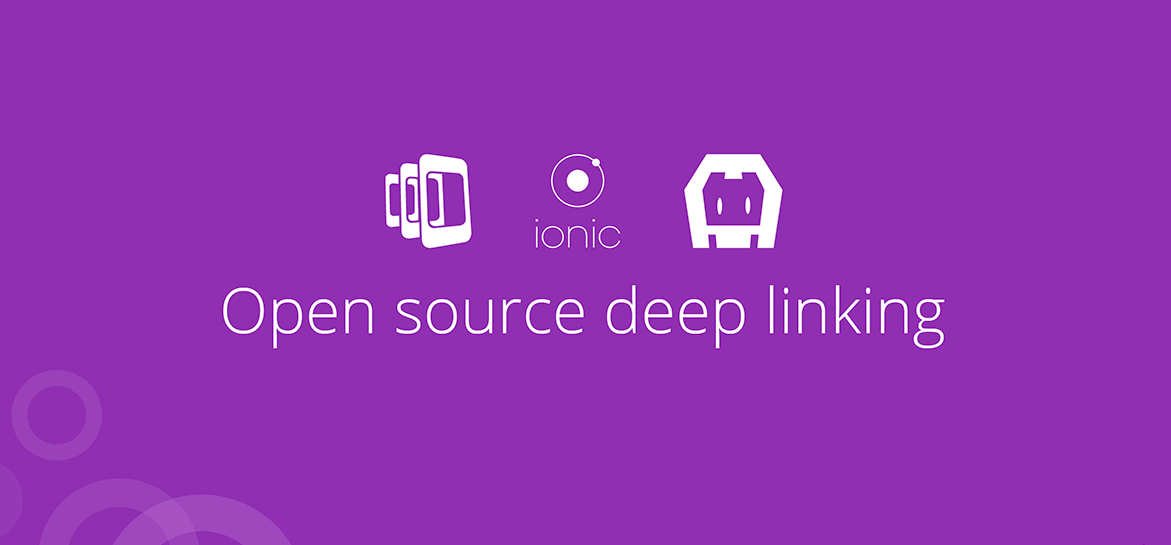 How to add Deep Linking in Ionic OR Deep Linking alternative