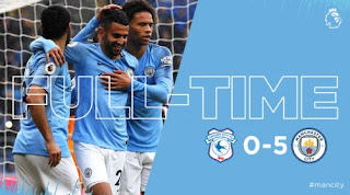 Cardiff City vs Manchester City 0-5 Video Gol & Highlights