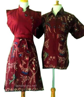 Baju Batik Modern Wanita Pria Sarimbit Pekalongan Solo Terbaru