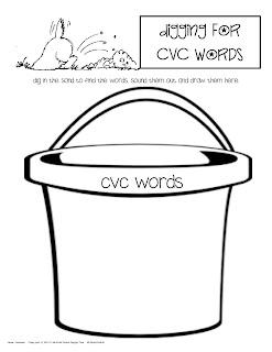 Kinder Corner: Digging for CVC words