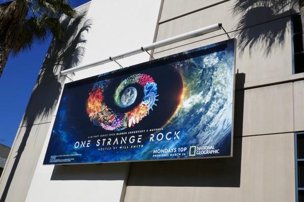 One Strange Rock series premiere billboard