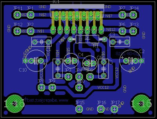 Rangkaian Running LED