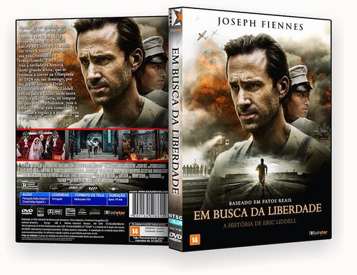 EM BUSCA DE LIBERDADE DVD-R – CAPA DVD