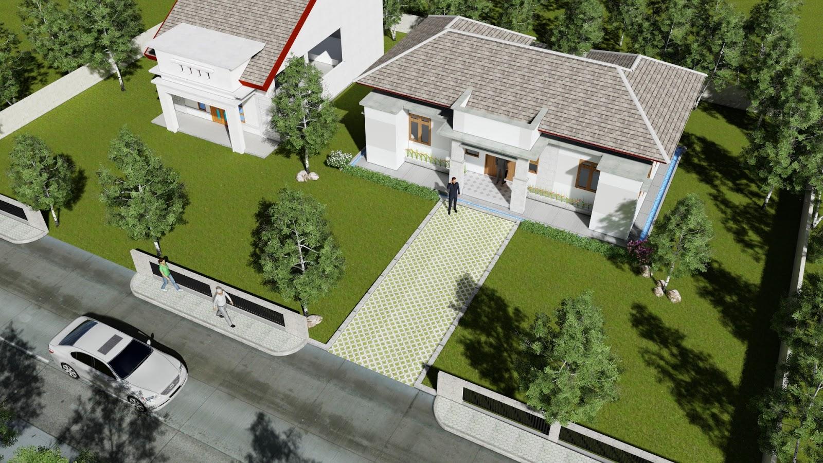Design visualizer desain kantor desa for Design visualizer
