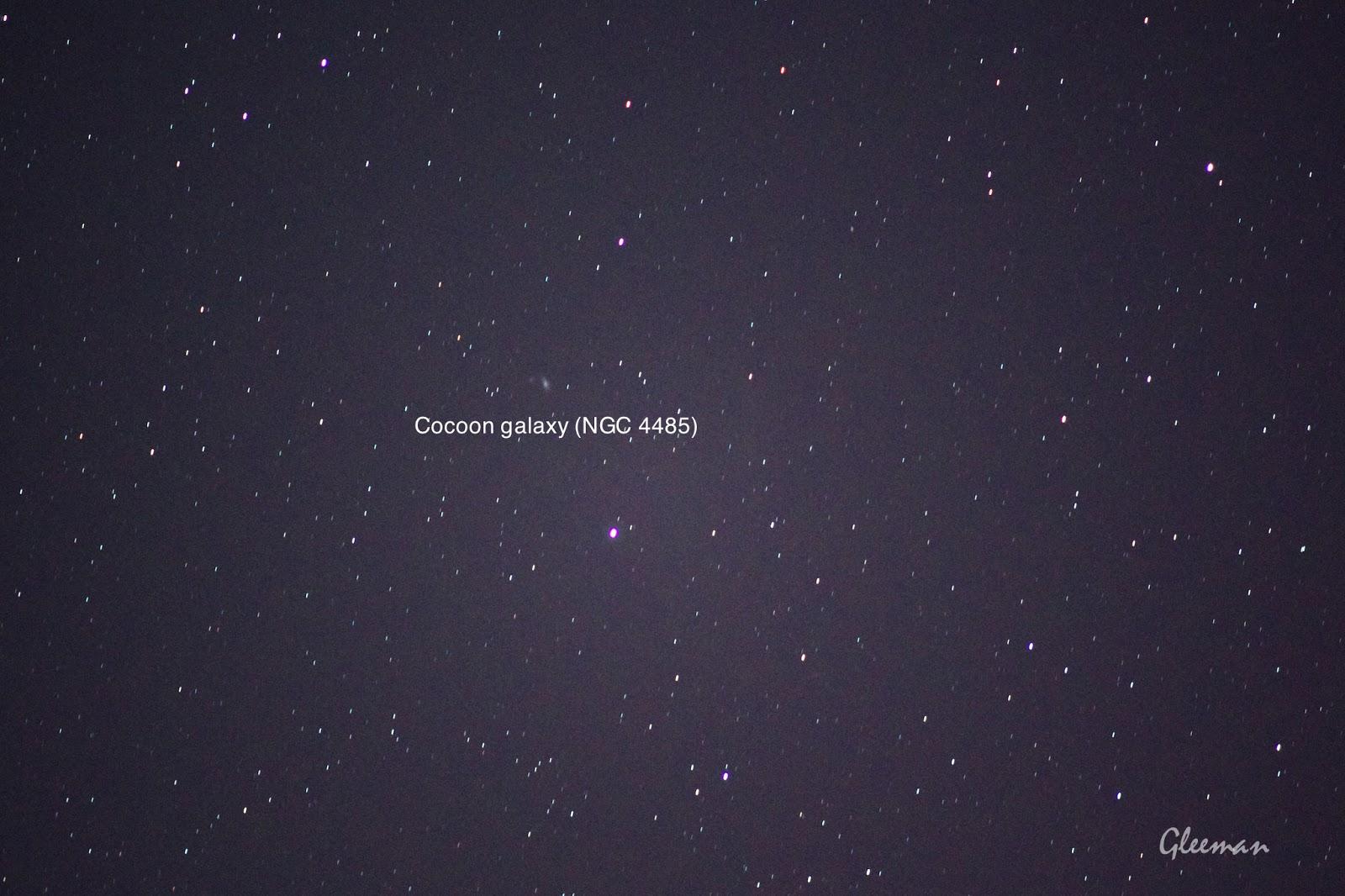 Cocoon galaxy  繭之星系/ Pentax  K5 + Pentax O-GPS1 + DA*200