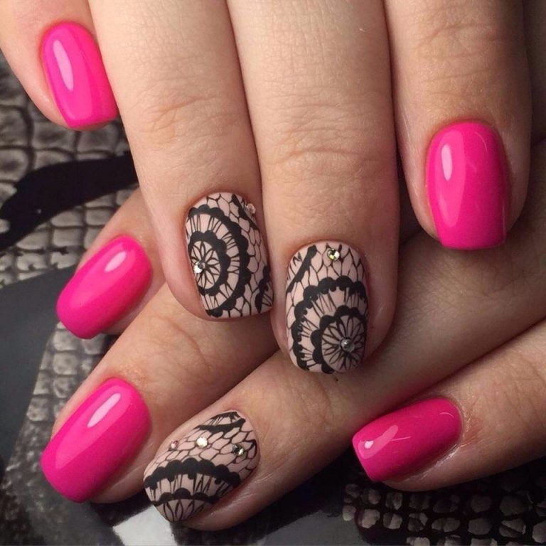 25 Beautiful Nail Art Designs