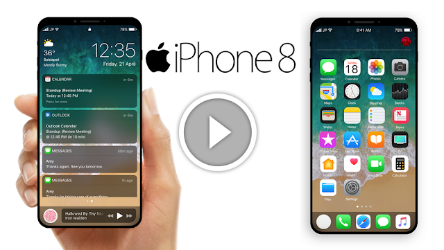 ด่วน!! IPHONE 8 FINAL DESIGN พบการออกแบบขั้นสุดท้ายสำหรับ iPhone รุ่นพิเศษ ฉลองครบรอบ 10ปี iPhone..