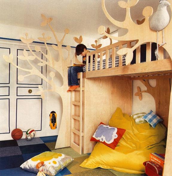 Boys Funky Room: Hudson Baby Design: Funky Bunks