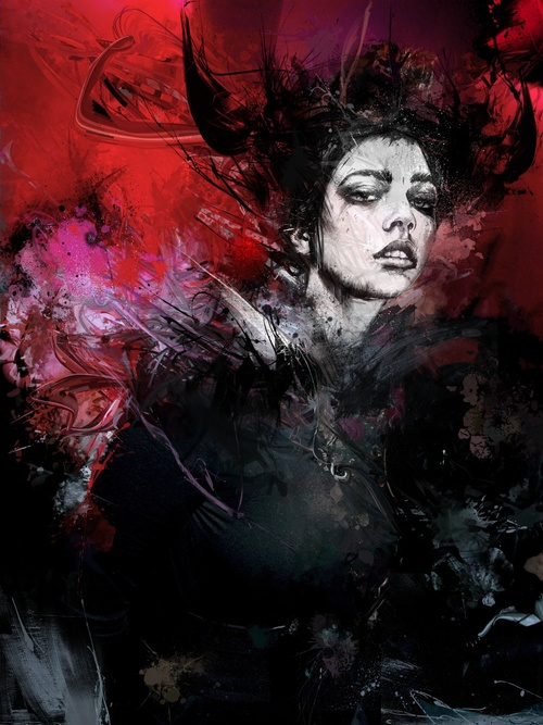 14-Planet-Caravan-Russ-Mills-Paintings-with-Intensity-of-Expression-www-designstack-co
