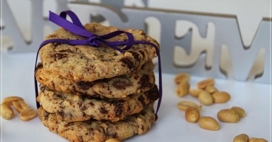 mein leben und das backen chocolate peanut cookies. Black Bedroom Furniture Sets. Home Design Ideas