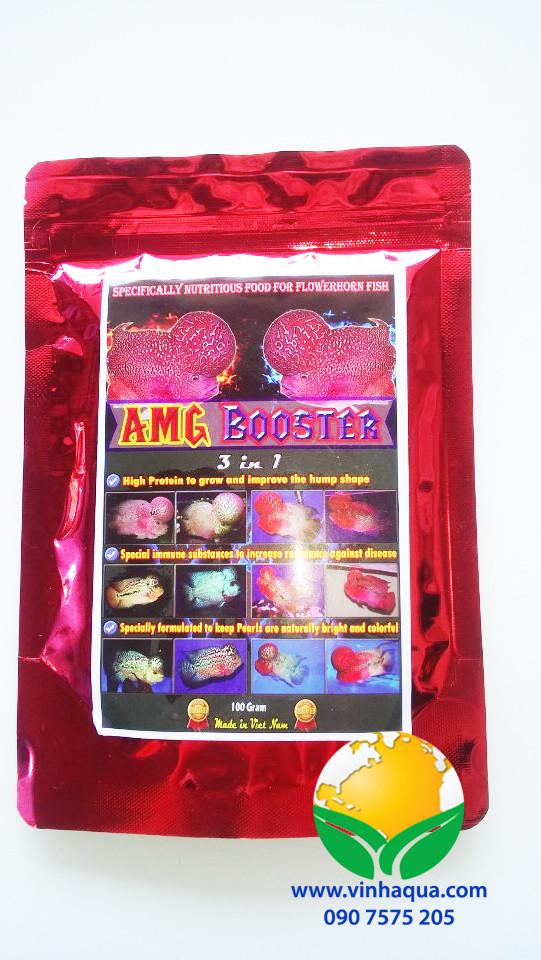 Thức ăn cho cá La Hán AMG