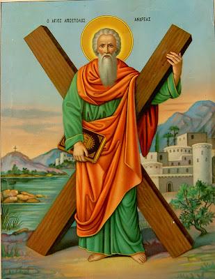 Αποτέλεσμα εικόνας για Άγιος Ανδρέας ο Απόστολος, ο Πρωτόκλητος