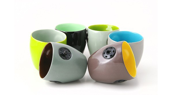 Mugs de colores regalo creativo