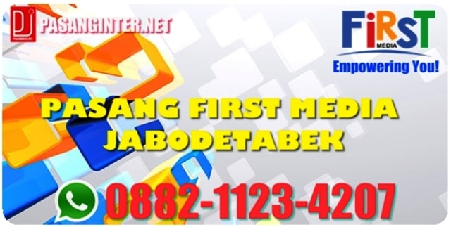 PASANG FIRST MEDIA JABODETABEK