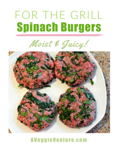 Spinach Burgers, another healthy veggie burger ♥ A Veggie Venture. Moist & Juicy. Budget Friendly. Weeknight Easy, Weekend Special. Weight Watchers Friendly. Gluten Free. Whole30 Friendly. Paleo Friendly. Low Carb. High Protein.