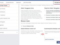 Cara Aktifkan Pesan Balasan Otomatis di Halaman Facebook