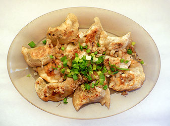 pierogi with white mushrooms and eggs ingredients pierogi dough 1 2 ...