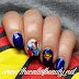 Twinsie Tuesday: Superman Manicure - Someone Else Does Your Nails