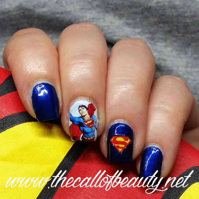 Superman Manicure