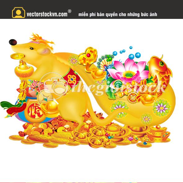 Chuột kéo túi vàng