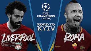 مشاهدة مباراة ليفربول وروما ذهاب نصف نهائي دوري أبطال أوروبا 24-04-2018