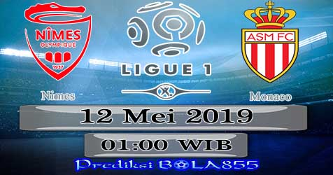 Prediksi Bola855 Nimes vs Monaco 12 Mei 2019